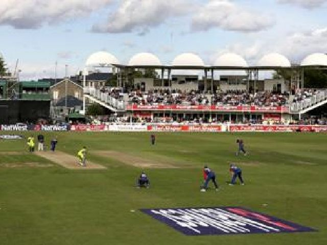 The County Ground suffered a washout on Sunday