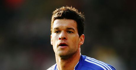 Ballack: Happy at Chelsea