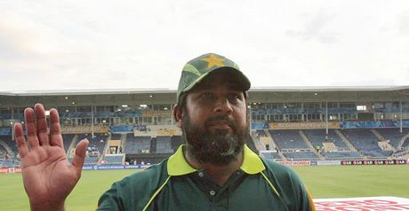 Inzamam: hanging up his bat