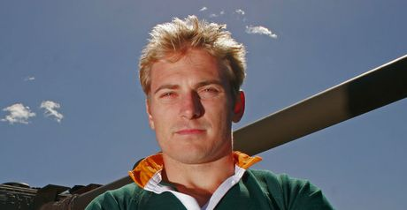 Russell: Capped 18 times for Springboks