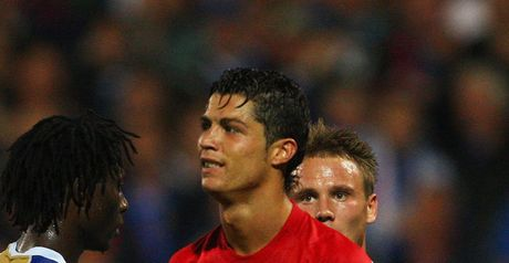Ronaldo: Given his marching orders