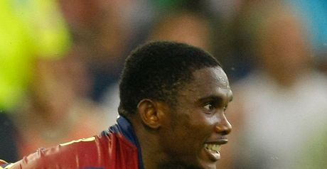 Eto'o: First goal of the season