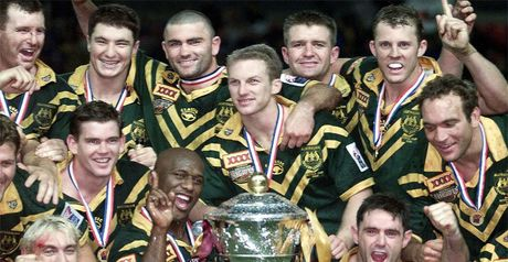 Australia won the last World Cup back in 2000