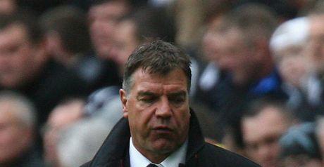Allardyce: Under pressure