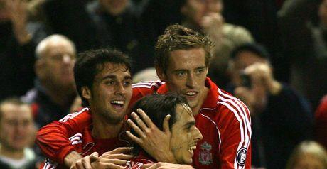 Benayoun and Crouch celebrate