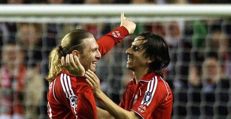 Benayoun: Hat-trick hero