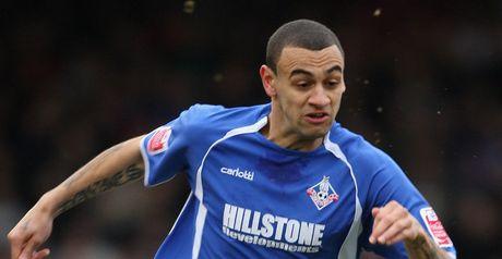 Davies: Hat-trick hero