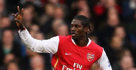 Adebayor: First-half brace