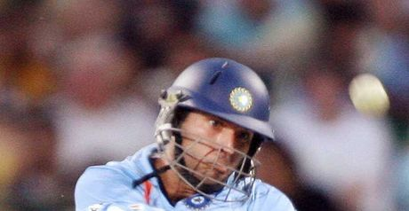Yuvraj: powerful innings