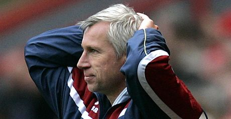 Pardew: Lost the lead