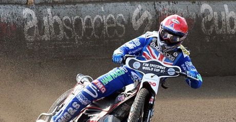 Nicholls: In action for GB (Pic credit Fotospeedway.pl)