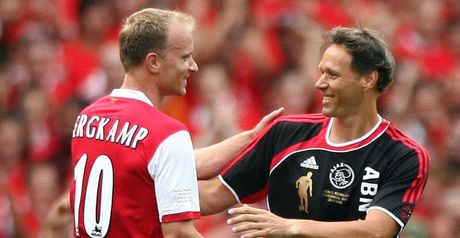 Van Basten and Bergkamp: Ajax link