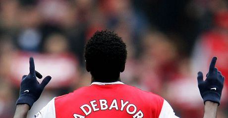 Adebayor: Big asking price