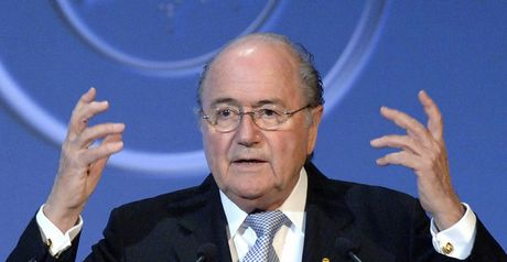 Blatter: Did not mention Ronaldo