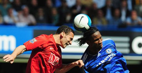 Ferdinand and Drogba: Their battle could prove crucial