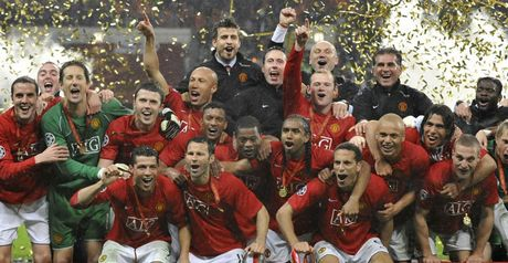 United celebrate in Moscow
