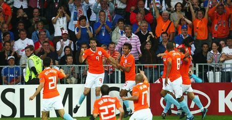 First blood: Van Nistelrooy breaks the deadlock