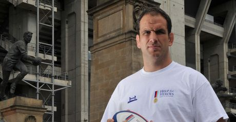 Martin Johnson: On the bench for Help for Heroes XV