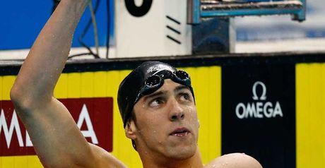 Phelps: Record hunter