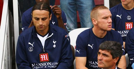 Berbatov: On bench at Boro
