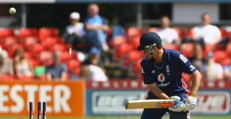 Key: Clean bowled for 51 at Grace Road