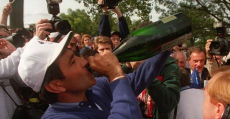 Seve drinks to Ryder glory