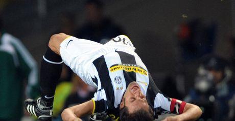 Del Piero: Celebrates winner
