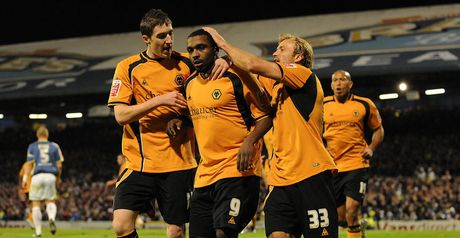 Ebanks-Blake: Celebrates winner