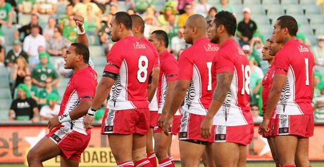 Tonga: only 18 available players