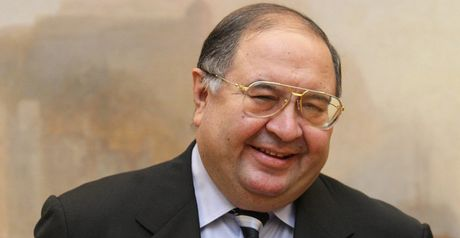 Alisher Usmanov: Has grander ambitions for Arsenal than mere Champions League qualification