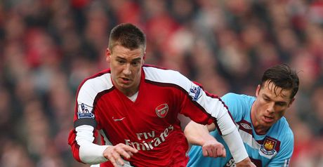 Bendtner: Surprise place in the first XI