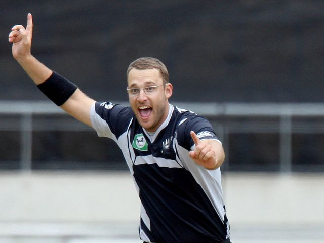 Vettori - picked up four wickets.