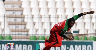 Chigumbura: rapid spell of bowling