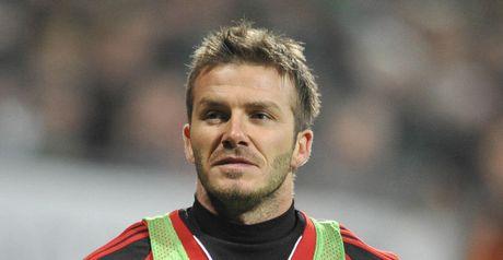 Beckham: Spurs target