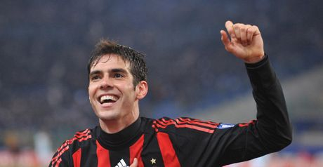 Kaka: On target twice from the spot