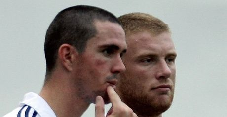 Record deals: Pietersen and Flintoff