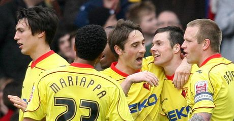 Watford celebrate