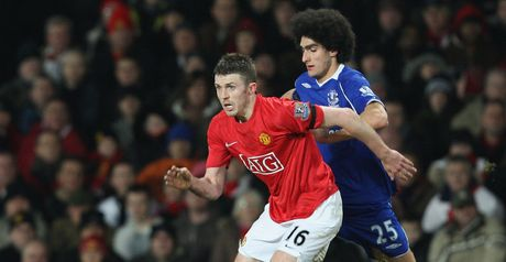 Carrick: Hailed by his manager