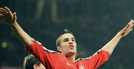 Van Persie: On the spot