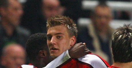 Bendtner: Scored opener