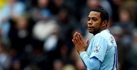 Robinho: Goal drought
