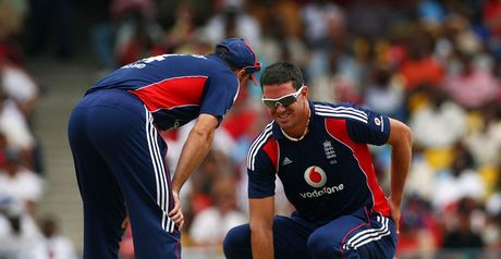 Pietersen: back injury