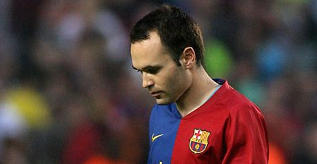 Iniesta: Injury setback