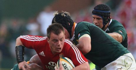 Rees: Ready to tackle the Boks