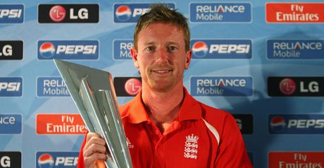 Handy performer: Paul Collingwood
