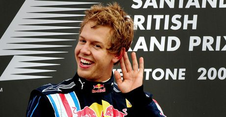 Vettel: Silverstone joy