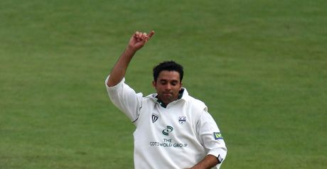 Kabir: one year left on Worcestershire contract