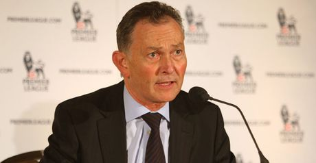 Scudamore: Premier League chief executive