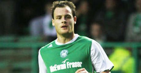 Stokes: First goals for Hibs