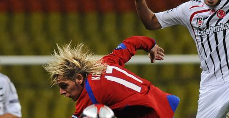 Krasic: Struck second goal